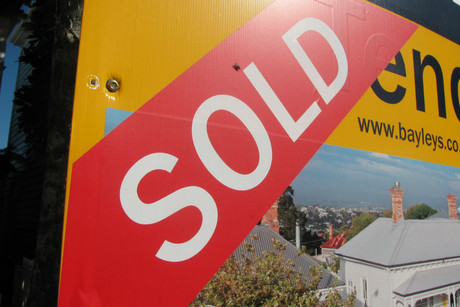 A shortage of properties in our two biggest cities has pushed New Zealand's median house price to a record high (file)