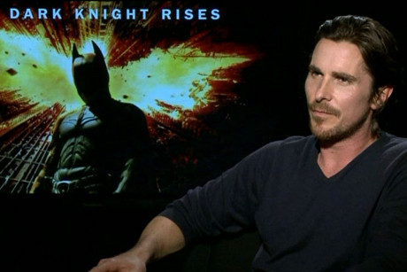 The Dark Knight Rises star Christian Bale
