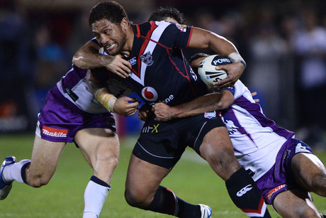 Warriors winger Manu Vatuvei is back (Photosport file)