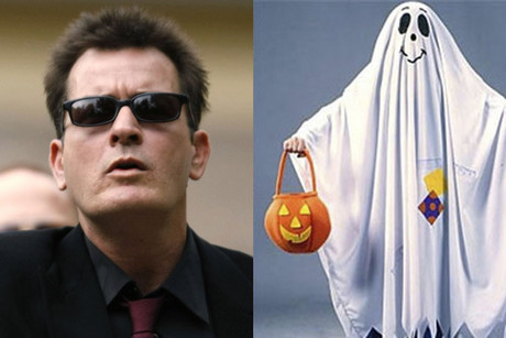 Charlie Sheen (Reuters) and a common ghost