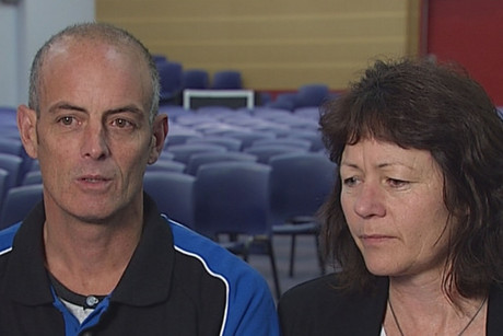 Brent and Christine Laurenson want to drum home the message that speed kills