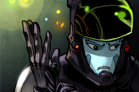 Artwork from Mylo Xyloto comics (Bongo Comics)