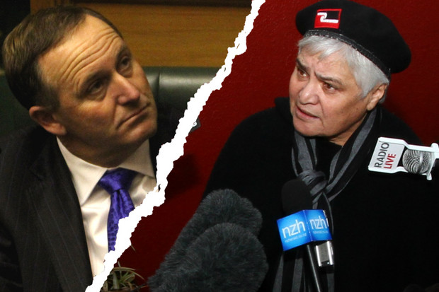 John Key has certainly rarked up many Maori and, by extension, the Maori Party - his Government partner (Photos: Jared Mason)