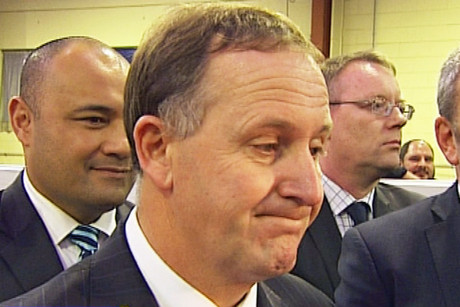 Prime Minister John Key says a decision hasn't been made on whether shares in the state owned power company Mighty River Power will be sold on the Australian stock exchange