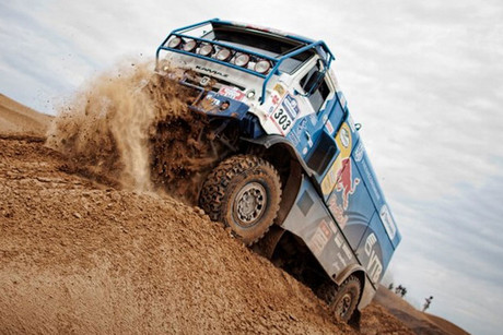 Action from the 2012 Silk Way Rally