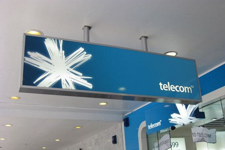 Shares in Telecom have climbed 22 per cent this year  (file pic)