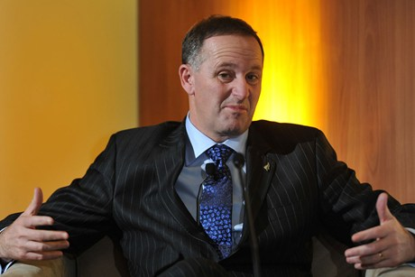 Support for the National Party under John Key dropped to 45.5 per cent  (file pic)