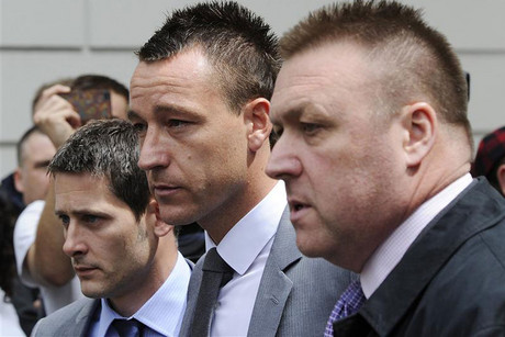 Former England captain John Terry was found not guilty