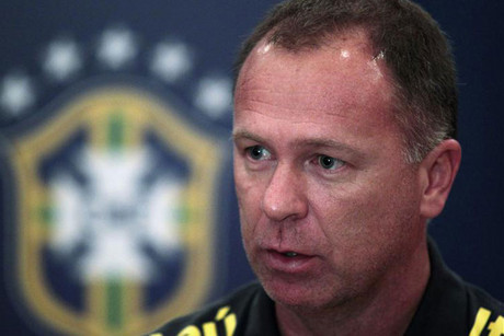 Brazil's national soccer team coach Mano Menezes