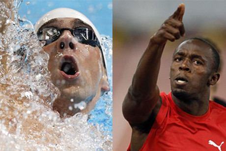 Michael Phelps and Usain Bolt are used to dominating