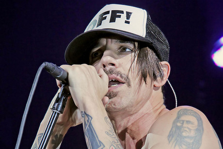 Red Hot Chili Peppers frontman Anthony Kiedis (WENN.com)
