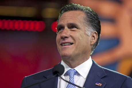 Republican presidential candidate Mitt Romney (Reuters)