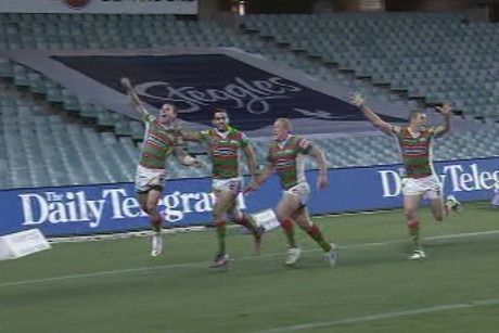 The Rabbitohs grabbed a last minute victory