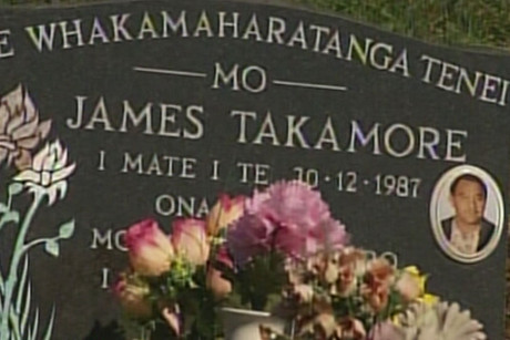 James Takamore's body was taken from Christchurch in 2007 against the will of his of partner of 20 years
