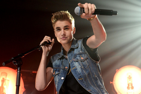 American pop singer Justin Bieber performs at his Justin Bieber 'Believe' Live & Intimate Concert in Sydney before travelling to New Zealand (NZN)