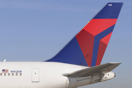 The tail of a Delta Airlines Boeing 767-300 ER (Reuters/file)