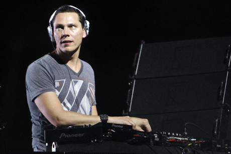 Tiesto performing at Coachella 2010 (Reuters)