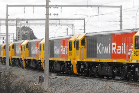 Winston Peters says KiwiRail has outsourced the track maintenance to Australian firm Speno