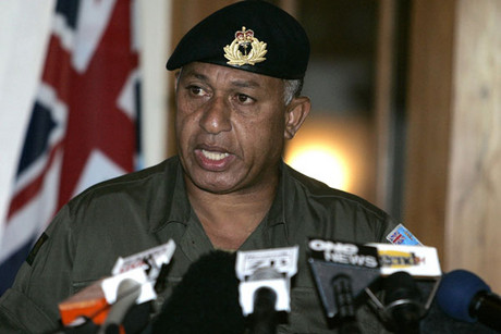  Fiji leader Voreqe Bainimarama