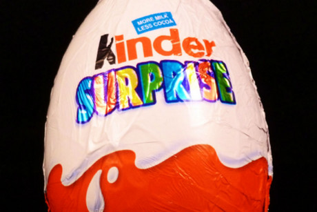 Kinder Eggs are banned in the US