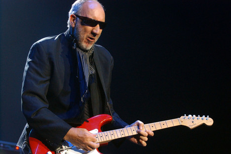 The Who's Pete Townshend (AAP)
