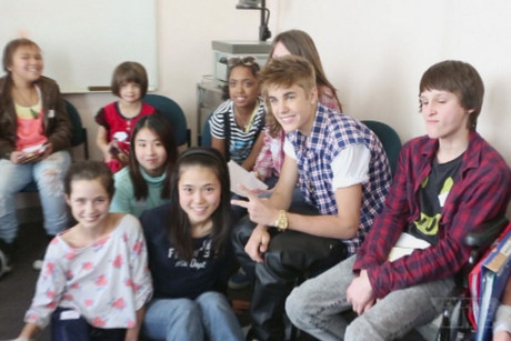 Justin Bieber visited Auckland's Starship hospital