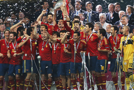 Spain retain the European Championship - winners of Euro 2012 (Reuters)