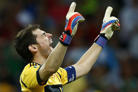 Iker Casillas reached a magical milestone (Reuters)