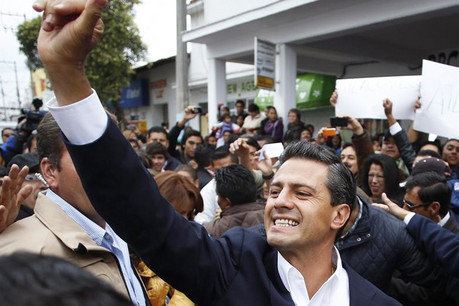 Enrique Pena Nieto, presidential candidate of the Institutional Revolutionary Party (Reuters)