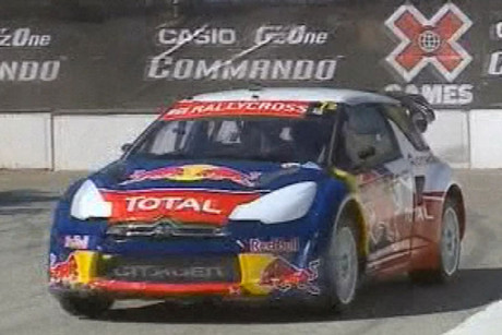 Sebastien Loeb cleared away