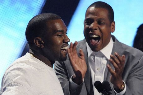 Kanye West and Jay-Z at the 2012 BET Awards (Reuters)