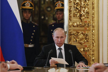 Russian president Vladimir Putin  (Photo: Reuters)