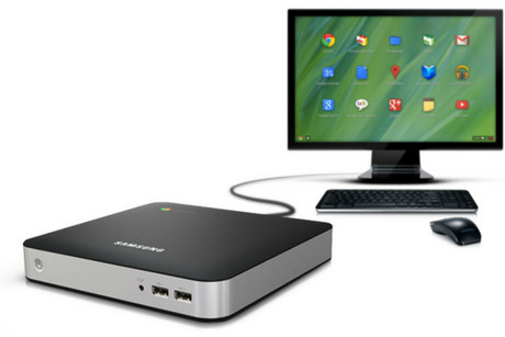 Google and Samsung's Chromebox computer