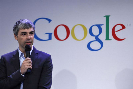 Google CEO Larry Page (Reuters)