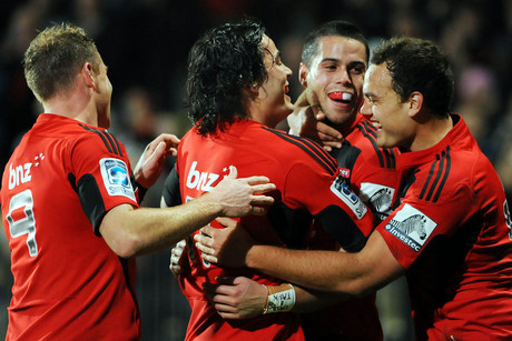 Crusaders will be hoping for more celebrations like this