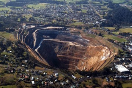 The fire was the most serious incident at the mine since it opened in 2006  (file pic)