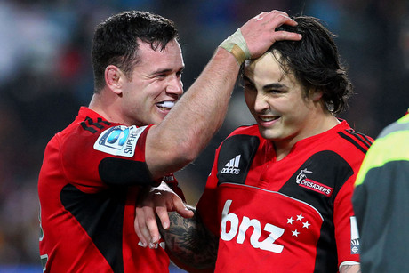 Ryan Crotty (L) and Zac Guildford (R) (Photosport file)