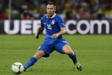 Antonio Cassano (Reuters file)