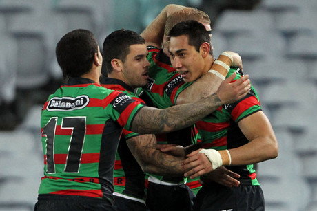 Rabbitohs celebrate (NZN)