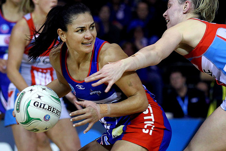 Northern Mystics midcourter and captain Temepara George (Photosport file)