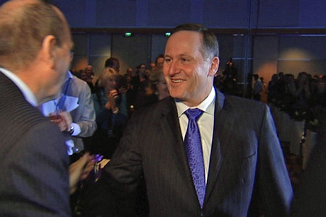 Prime Minister John Key's plan was popular inside the National Party conference