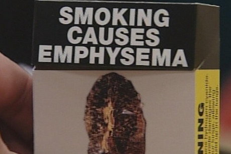 Health warnings currently take up 30 percent of the front of cigarette packages