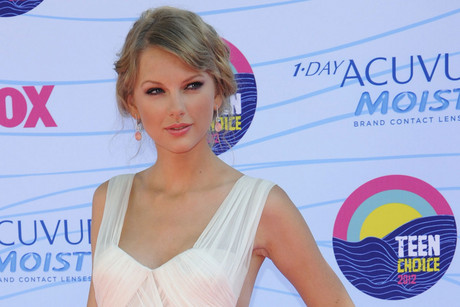Taylor Swift at the 2012 Teen Choice Awards (Reuters)