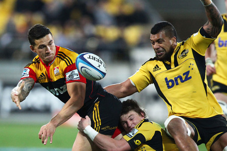 Sonny Bill offloading (Photosport)