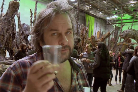 Peter Jackson in the latest Hobbit production video diary