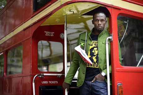Usain Bolt - in London (Reuters)