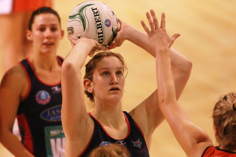 Karyn Howarth shoots for the Vixens (file pic)