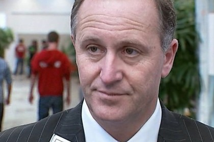 John Key says he is not in a position to discuss the security breach  (file pic)