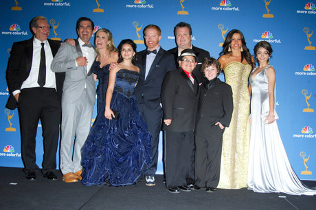The cast of Modern Family (AAP)