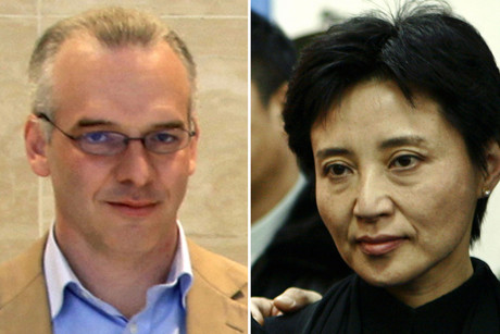 British businessman Neil Heywood and Gu Kailai, wife of China's former Chongqing Municipality Communist Party Secretary Bo Xilai (Reuters)